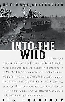 Into the Wild, Jon Krakauer, Good Condition, Book