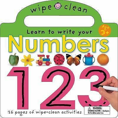 Wipe Clean Numbers (Wipe Clean Learning Books) by Priddy, Roger