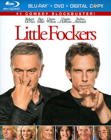 LITTLE FOCKERS - EUC/R1/PG-13/WS/DVD/BLU-RAY/DIGITAL COPY - DE NIRO/STILLER