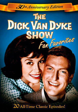 THE DICK VAN DYKE SHOW 50TH ANNIVERSARY EDITION - EUC/R1/NR/FS/DVD