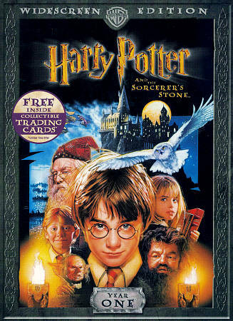 HARRY POTTER AND THE SORCERER'S STONE - BN/R1/PG/WS/DVD - RADCLIFFE/GRINT/WATSON