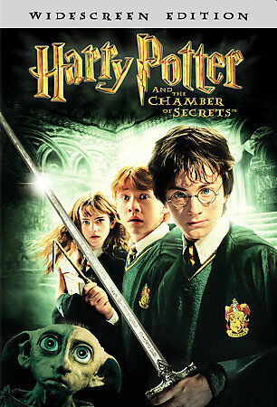 HARRY POTTER AND THE CHAMBER OF SECRETS - BN/R1/PG/WS/DVD - RADCLIFFE/GRINT