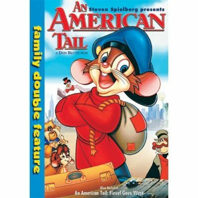 An American Tail Family Double Feature, Good DVD, Dom DeLuise, Christopher Plumm
