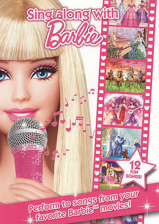 Sing Along With Barbie, Good DVD, ,