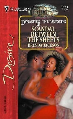 Scandal Between The Sheets (Silhouette Desire), Jackson, Brenda, Good Condition,