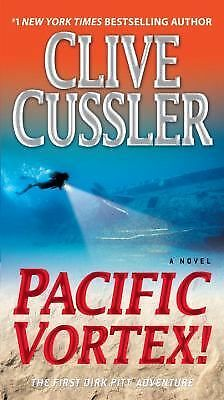 Pacific Vortex!: A Novel, Clive Cussler, Good Condition, Book