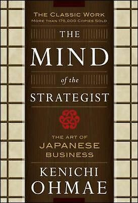 The Mind Of The Strategist: The Art of Japanese Business, Kenichi Ohmae, Good Co