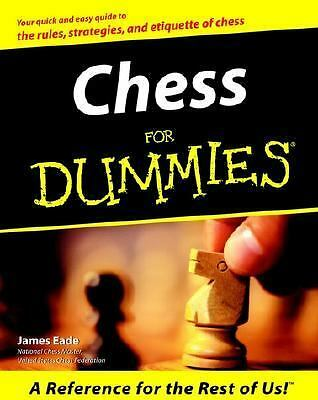 Chess For Dummies by Eade, James