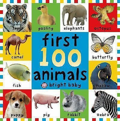 First 100 Animals by Priddy, Roger