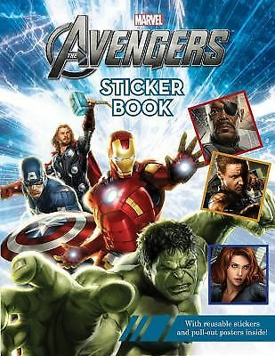 The Avengers Reusable Sticker Book by Marvel