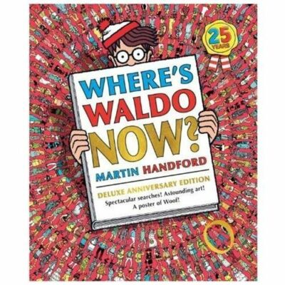 Where's Waldo Now?: Deluxe Edition, Handford, Martin, Good Condition, Book
