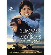 Summer of the Monkeys by Rawls, Wilson