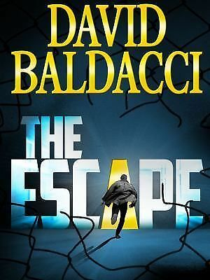 The Escape (John Puller Series), Baldacci, David, Good Condition, Book