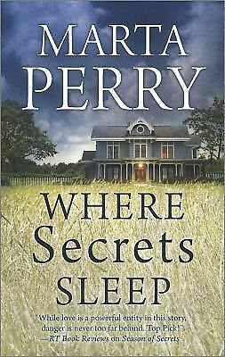 Where Secrets Sleep by Perry, Marta