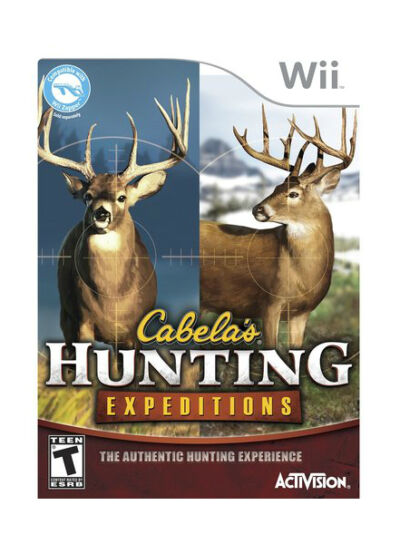 Cabela's Hunting Expeditions - Nintendo Wii, New Nintendo Wii, Nintendo Wii Vide