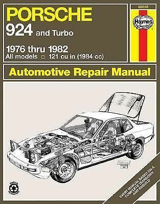 Porsche 924 '76'82 (Haynes Manuals), Haynes, Good Condition, Book