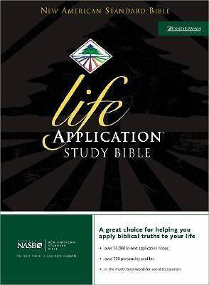 Life Application Study Bible, NASB, , Good Condition, Book