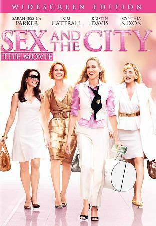 Sex and the City - The Movie (DVD, 2008, Widescreen) **FREE SHIPPING** NEW!!