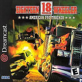 18 Wheeler American Pro Trucker, Good Sega Dreamcast, Sega Dreamcast Video Games