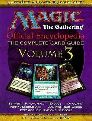 Magic: The Gathering -- Official Encyclopedia, Volume 3: The Complete Card Guid