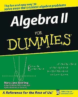 Algebra II For Dummies by Sterling, Mary Jane