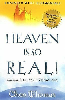 Heaven is so Real, Choo Thomas, Good Condition, Book