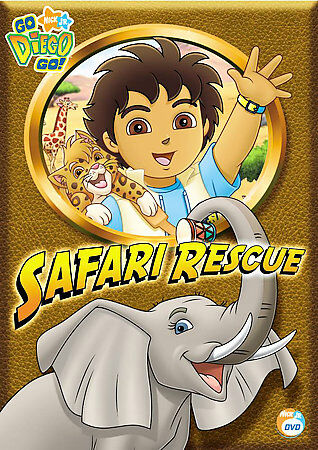 Go Diego Go! - Safari Rescue, Good DVD, ,