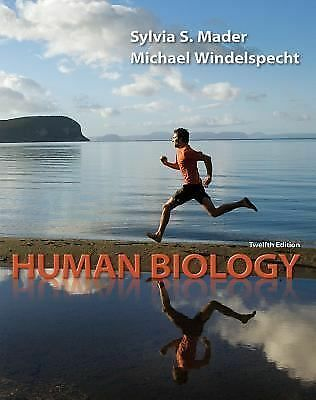 Human Biology by Sylvia S. Mader and Michael Windelspecht (2011, Paperback)