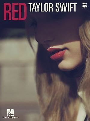 Taylor Swift - Red - Piano/Vocal/Guitar Songbook by Swift, Taylor