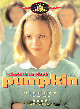 Pumpkin, Good DVD, Christina Ricci, Hank Harris, Brenda Blethyn, Dominique Swain