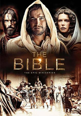 The Bible: The Epic Miniseries, Excellent DVD, Andrew Scarborough, Roma Downey,