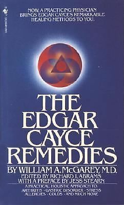 The Edgar Cayce Remedies, William A. Mcgarey, Good Book