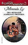 The Ruthless Marriage Proposal (#2635), Lee, Miranda, Good Condition, Book