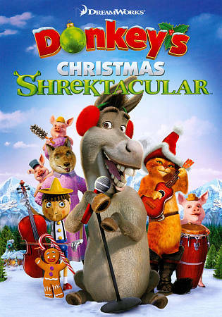 Donkey's Christmas Shrektacular, New DVD, ,
