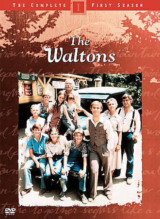 The Waltons: Season 1, Good DVD, Will Geer, Ellen Corby, Michael Learned, Ralph