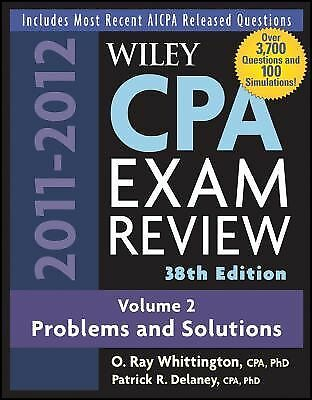 Wiley CPA Examination Review, Problems and Solutions Wiley CPA Examination Revi