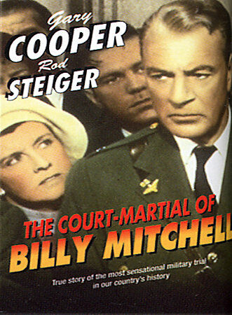 The Court-Martial of Billy Mitchell, Good DVD, Darren McGavin, Peter Graves, Jac
