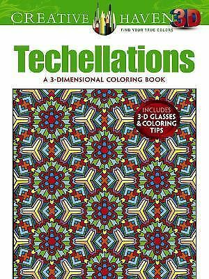 Creative Haven 3-D Techellations Coloring Book Creative Haven Coloring Books)