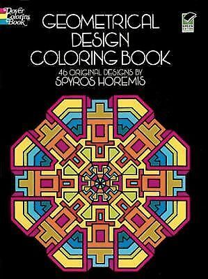 Geometrical Design Coloring Book Dover Design Coloring Books)