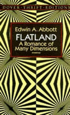 Flatland: A Romance of Many Dimensions (Dover Thrift Editions), Edwin A. Abbott,