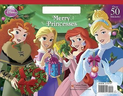 Merry Princesses (Disney Princess) (Big Coloring Book), RH Disney, Good Book