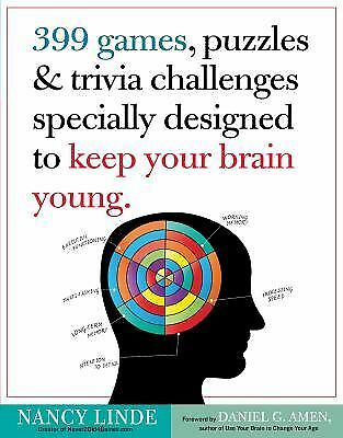 399 Games, Puzzles & Trivia Challenges Specially Designed to Keep Your Brain You