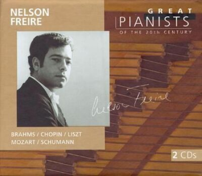 Nelson Freire: Great Pianists of the 20th Century, Mozart, Chopin, Schumann, Fre