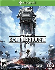 Star Wars Battlefront (Microsoft Xbox One, 2015) Excellent Condition Adult Owned