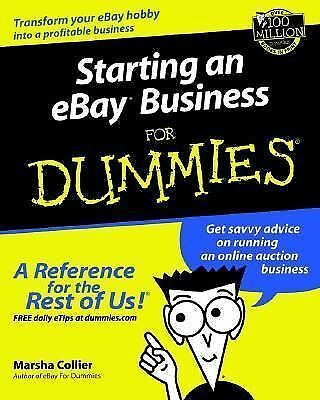 Starting on ebay Business for dammies