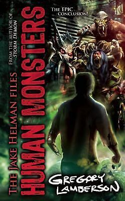 Human Monsters (Jake Helman Files Series), Lamberson, Gregory, Good Condition, B