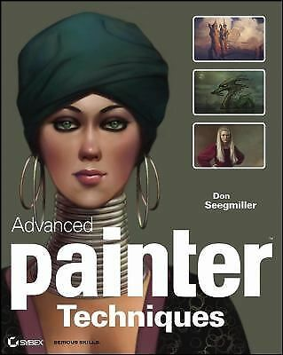 Advanced Painter Techniques, Seegmiller, Don, Good Book