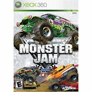 Monster Jam - Xbox 360, Good Xbox 360, Xbox 360 Video Games