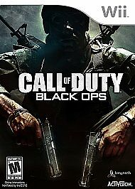 Call of Duty: Black Ops, Good Nintendo Wii Video Games