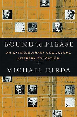 Bound to Please, Dirda, Michael, Good Condition, Book